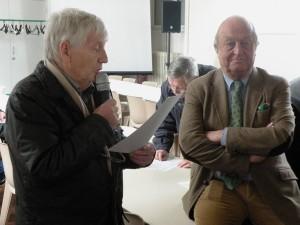 Remise du prix Coccinelle 2012 à Michel Thoury, le 6 avril 2013