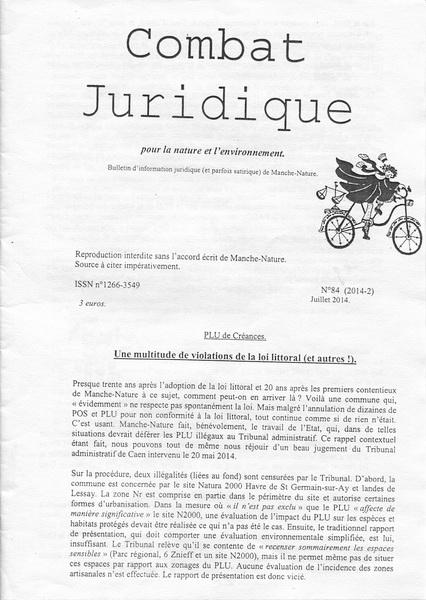 Combat Juridique n°84