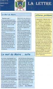 Extraits du bulletin municipal de Portbail