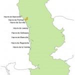 Carte de situation de Portbail (Manche, France)