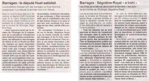 Ouest-France du 6 décembre 2014
