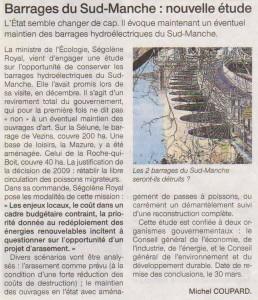 Ouest-France du 19 décembre 2014