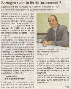 Ouest-France du 7 mai 2015