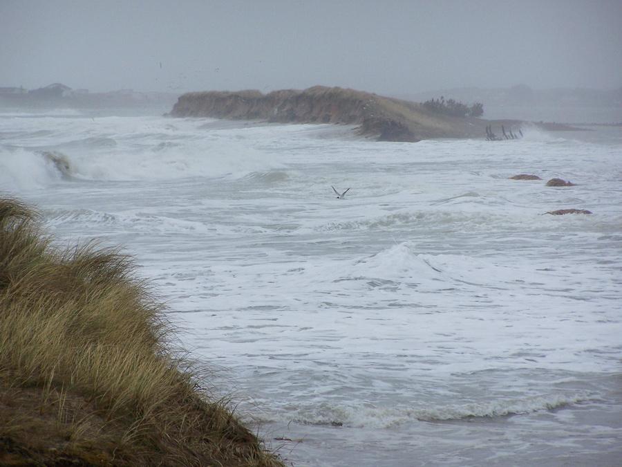 Tempête du 11 mars 2008 à Blainville-sur-Mer
