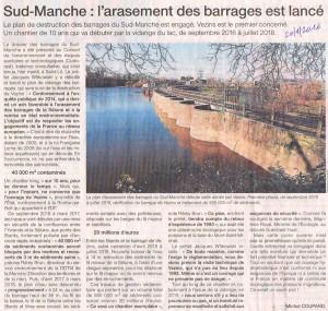 Ouest-France, 20 janvier 2016