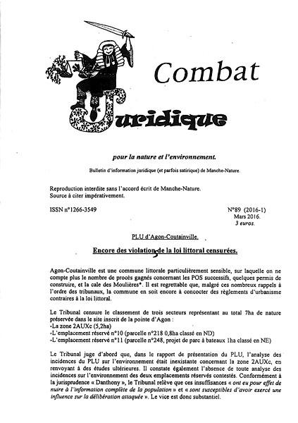 Combat Juridique n°89