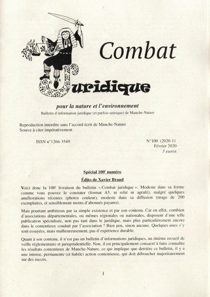 Combat Juridique 100