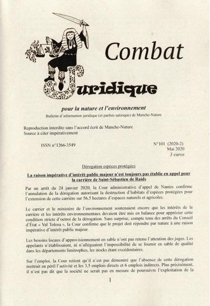 Combat Juridique 101