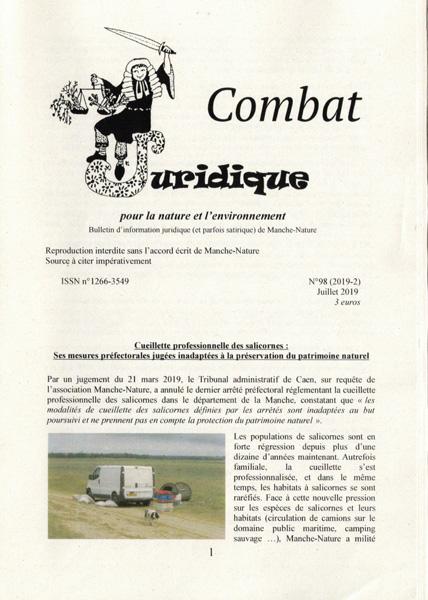 Combat Juridique 98